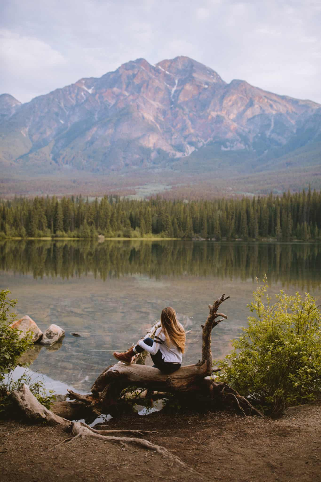 Photo Spots In Jasper - Pyramid Lake