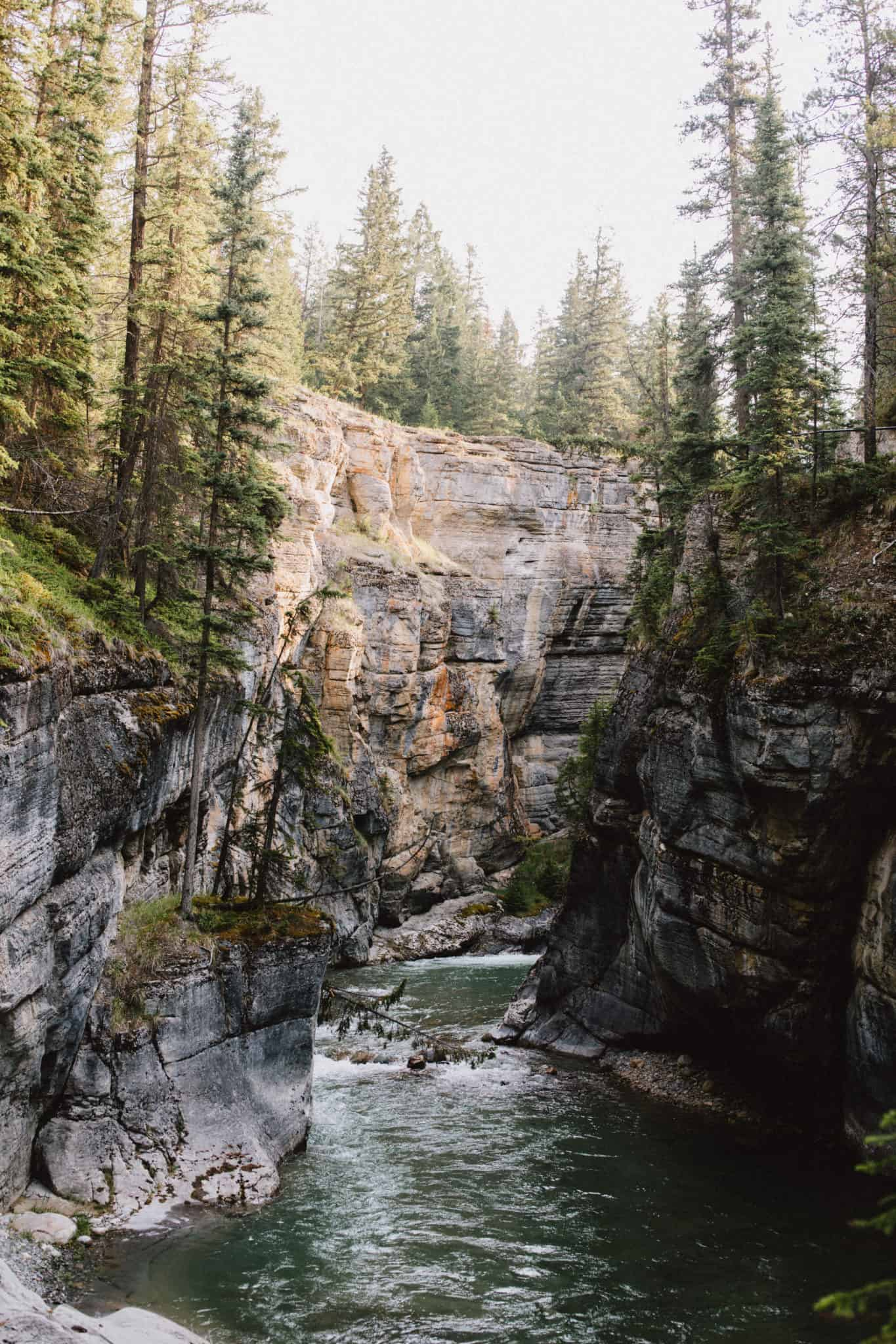 Photo Spots In Jasper National Park - Maligne Canyon