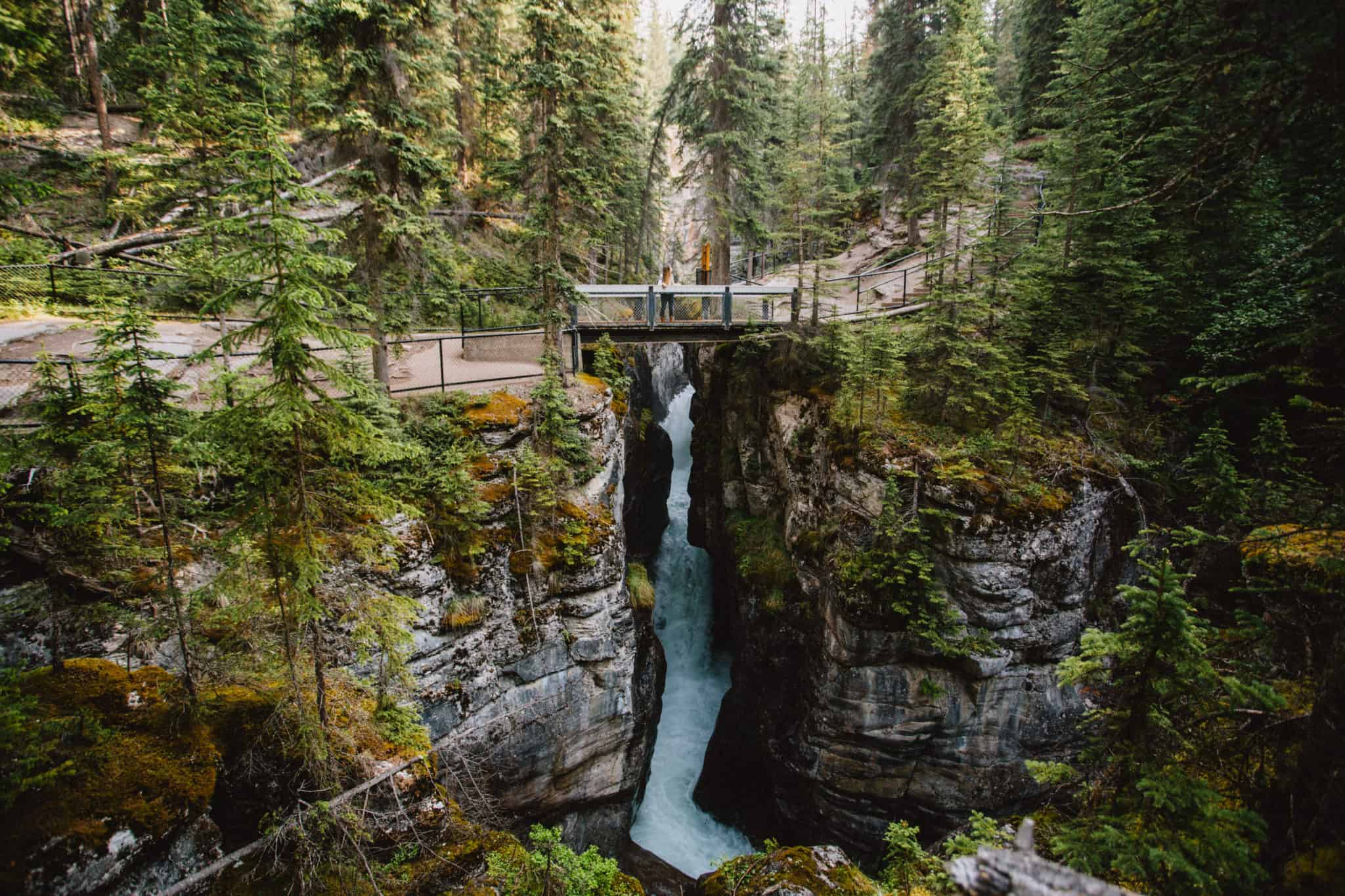 Easy Hikes In Jasper National Park - Maligne Canyon