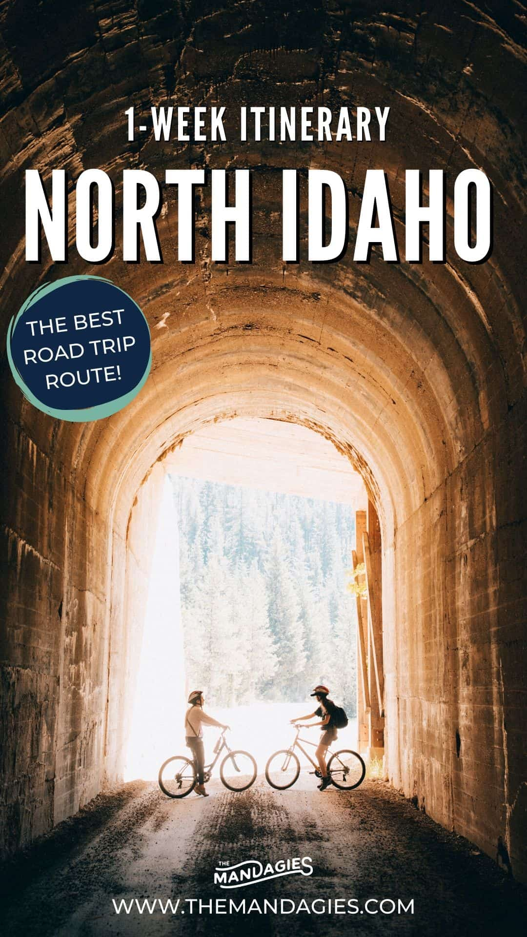 Looking for the best Idaho road rtip route in the Panhandle? You've come to the right place! We're hitting all the best stops, including Coeur d'Alene, Sandpoint, Priest Lake, the Selkirk Mountains, Lookout Pass, and so much more! Save this for your next adventure around the Inland northwest! #idaho #hiking #PNW #inlandnorthwest #coeurdalene #priestlake #selkirkmountains #Mountains #photography #landscape #roadtrips