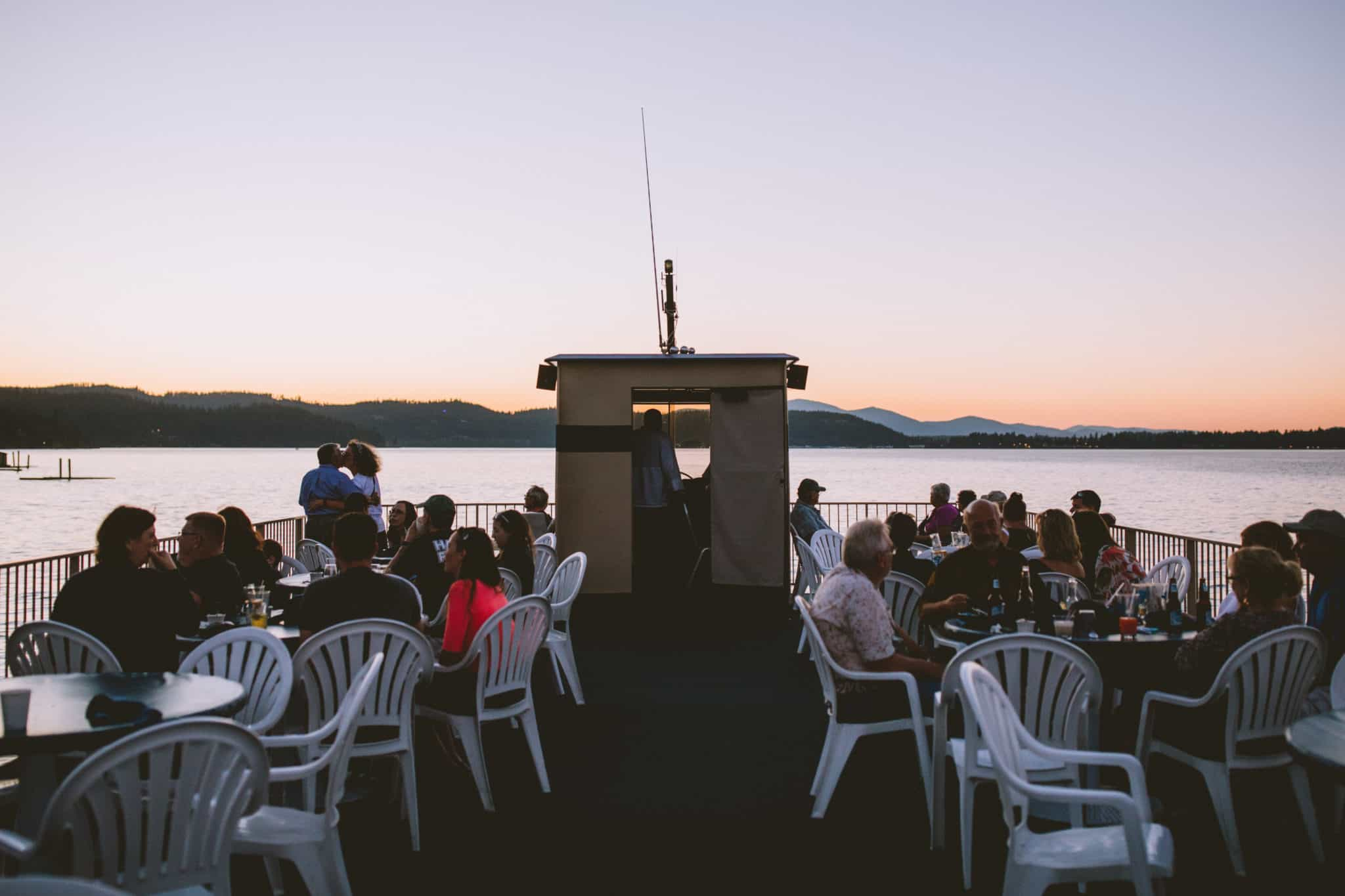 Coeur d'Alene Lake Sunset Dinner Cruise - TheMandagies.com