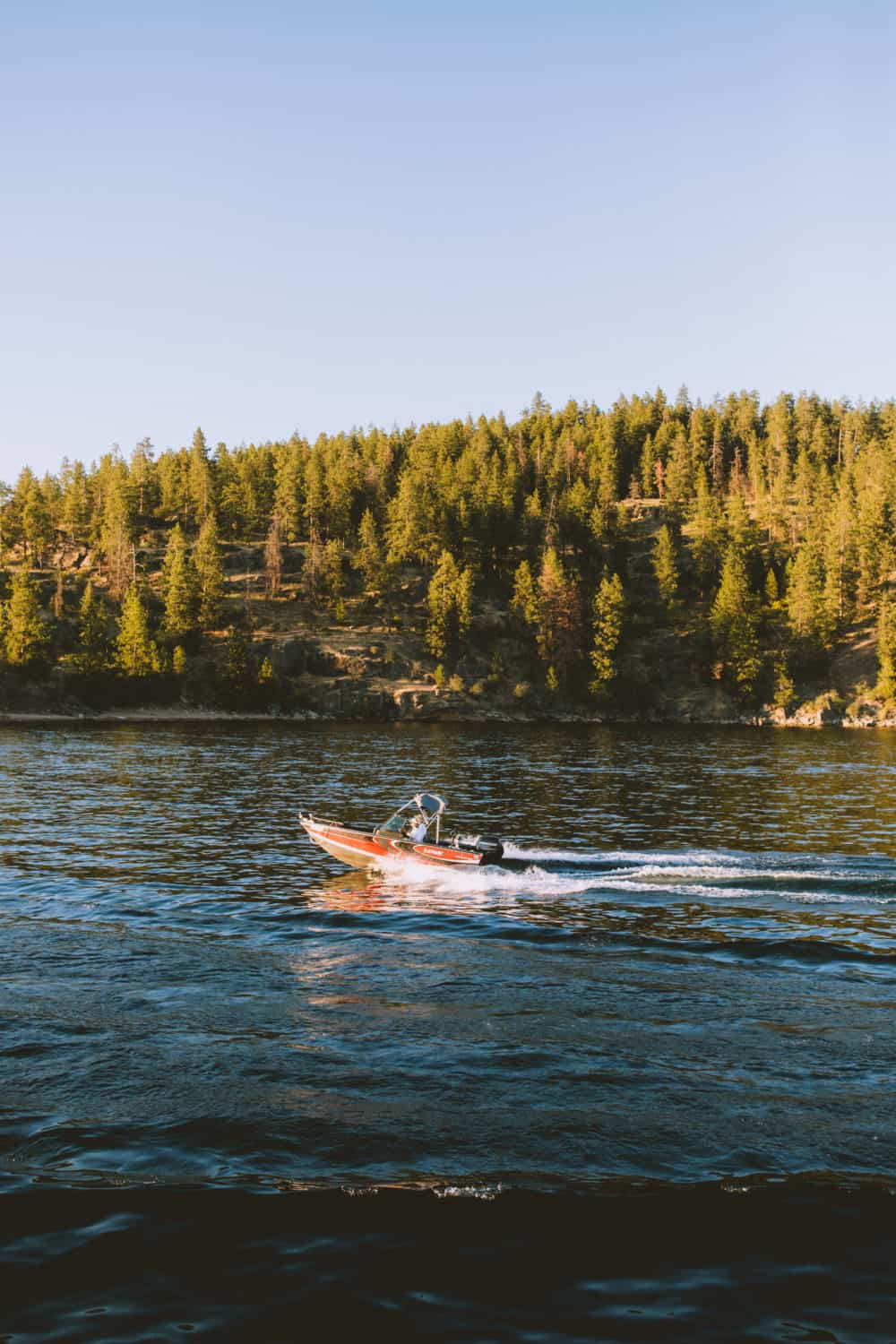 Sunset Cruise 0 The Perfect Coeur d'Alene Weekend Itinerary - TheMandagies.com