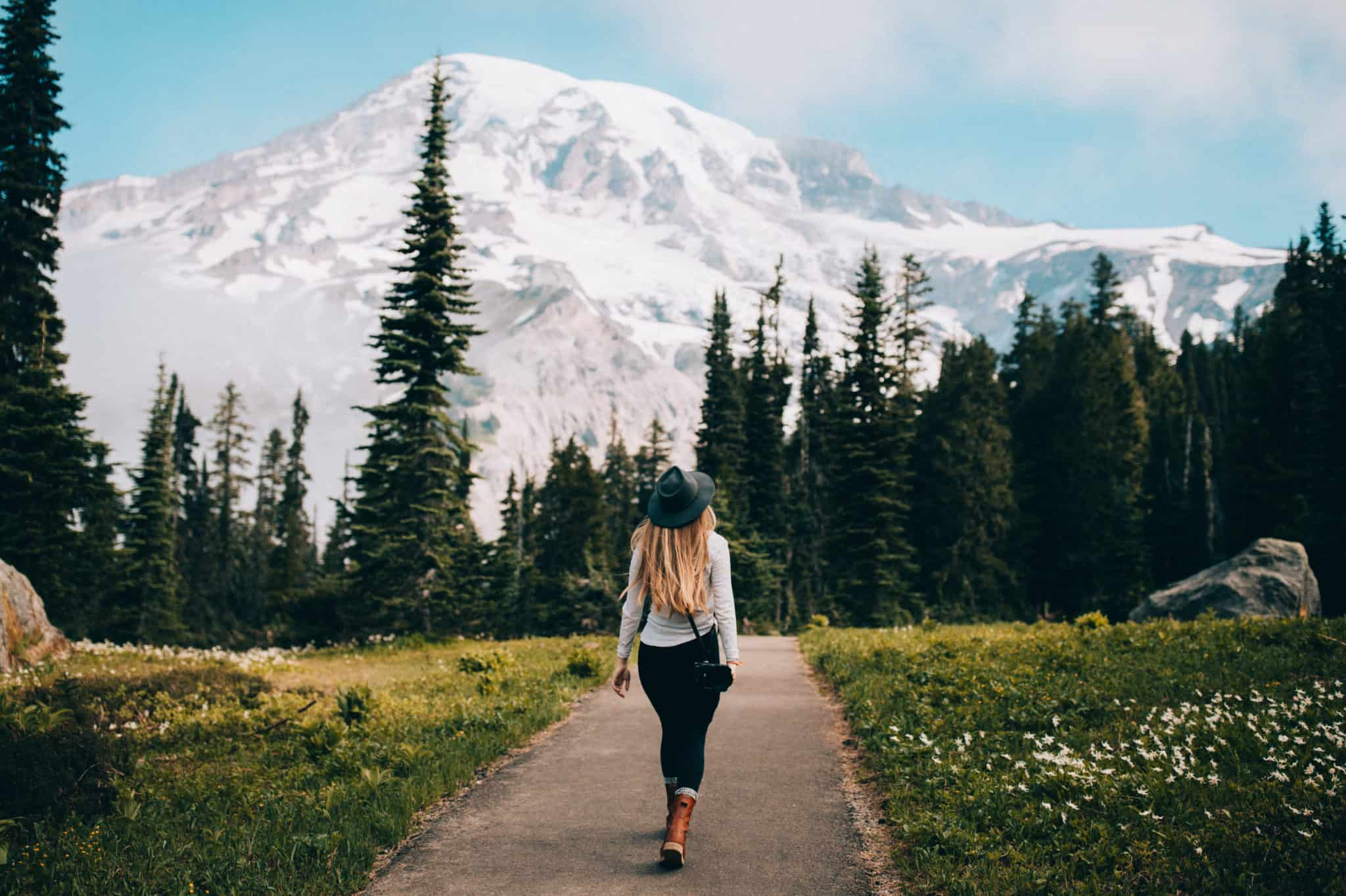 Best Hikes in the Pacific Northwest - Emily Mandagie at Nisqually Vista Loop