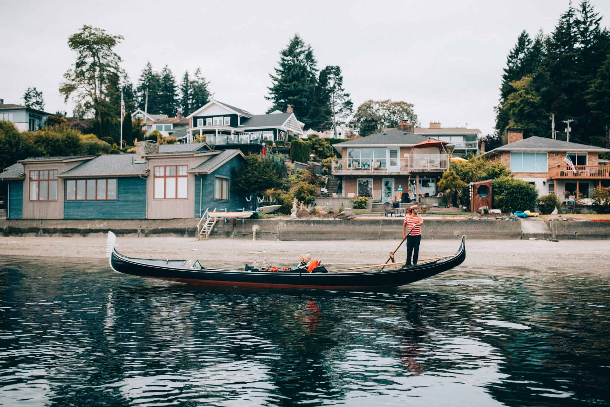 Gondola in Gig Harbor - TheMandagies.com