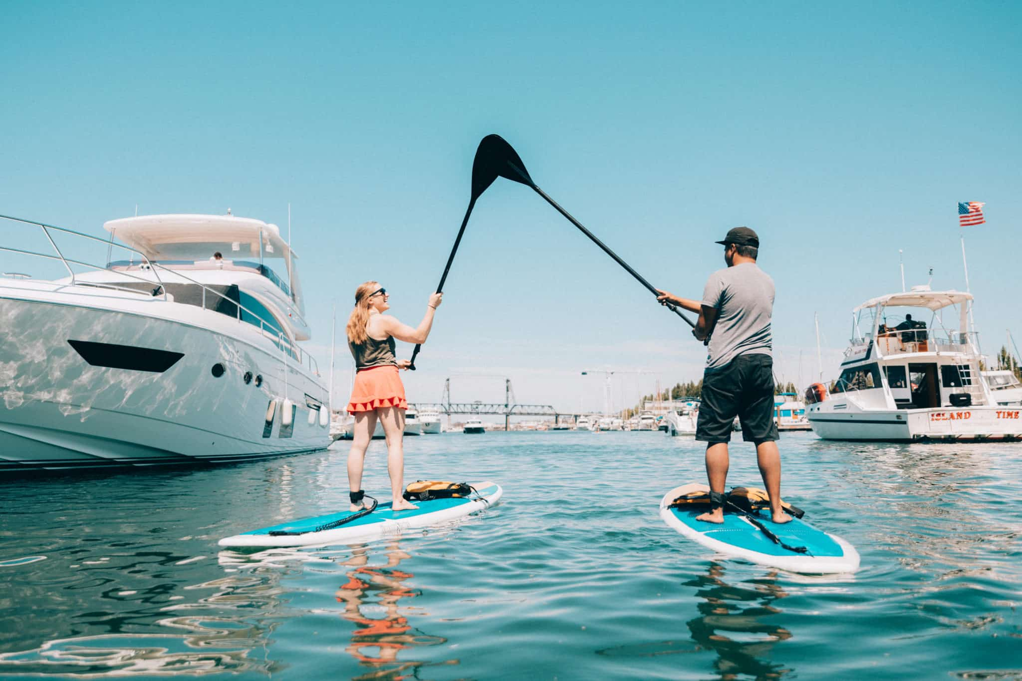 SUP In Tacoma - TheMandagies.com