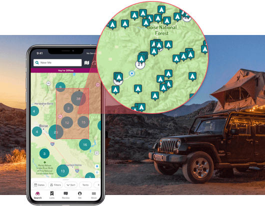Camping Essentials - The Best Campground Finding App - The Dyrt
