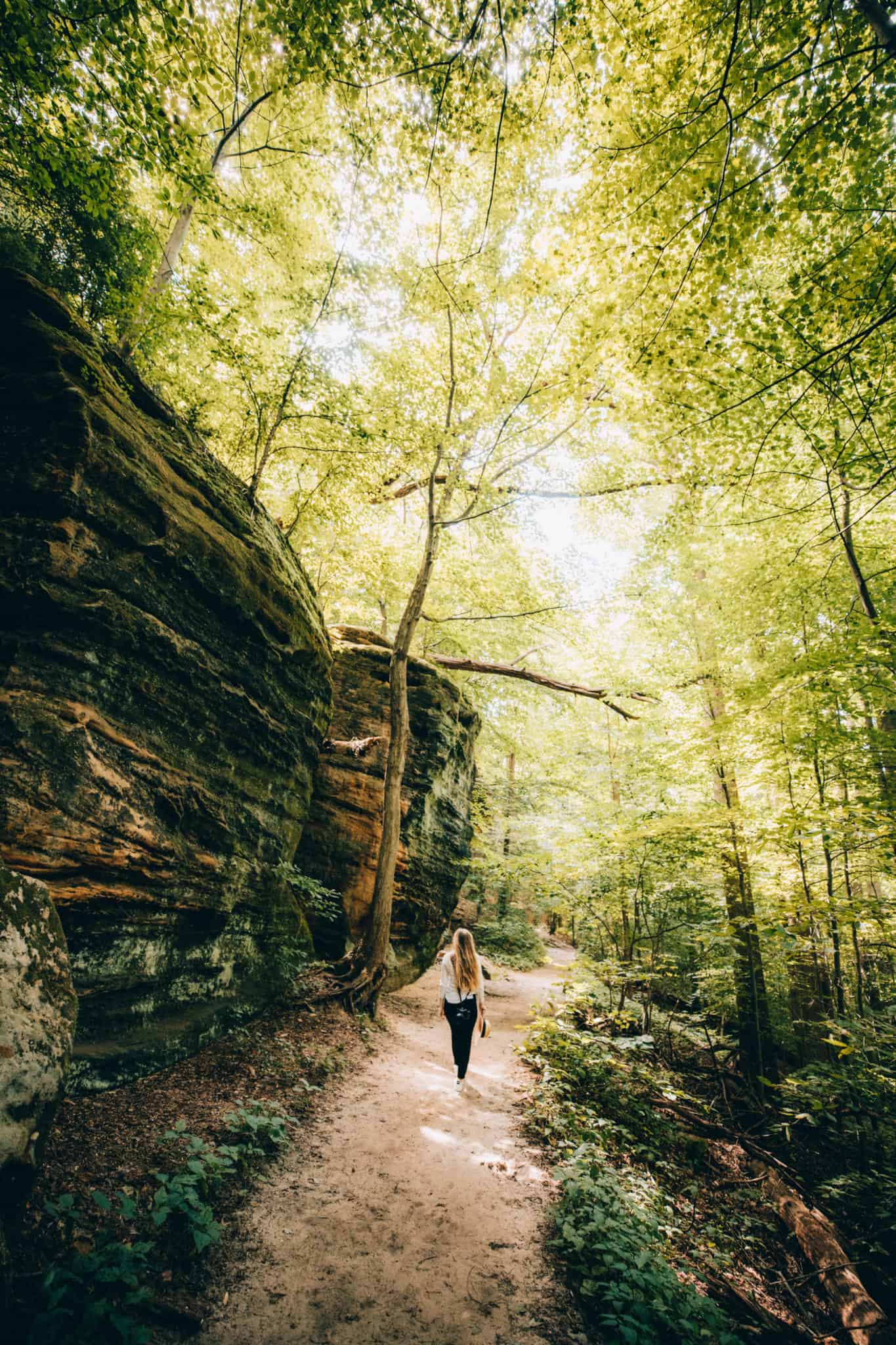 Ledges Trail - Cuyahoga Valley National Park - TheMandagies.com