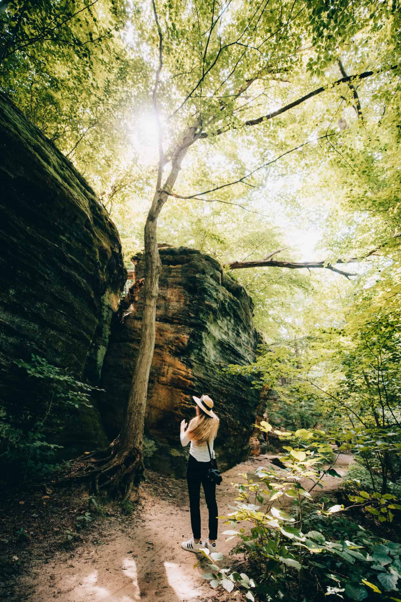 Ledges Trail - Cuyahoga Valley National Park - TheMandagies.com