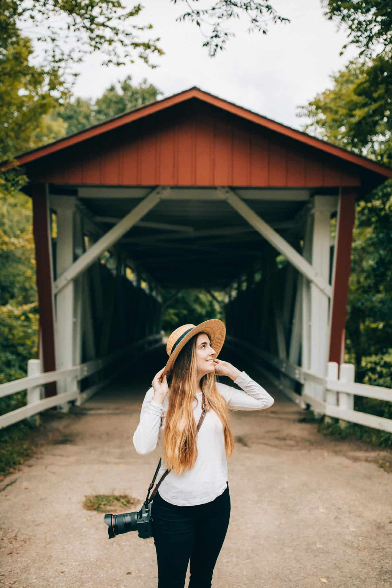 Everett Road Covered Bridge - Cuyahoga Valley National Park - TheMandagies.com