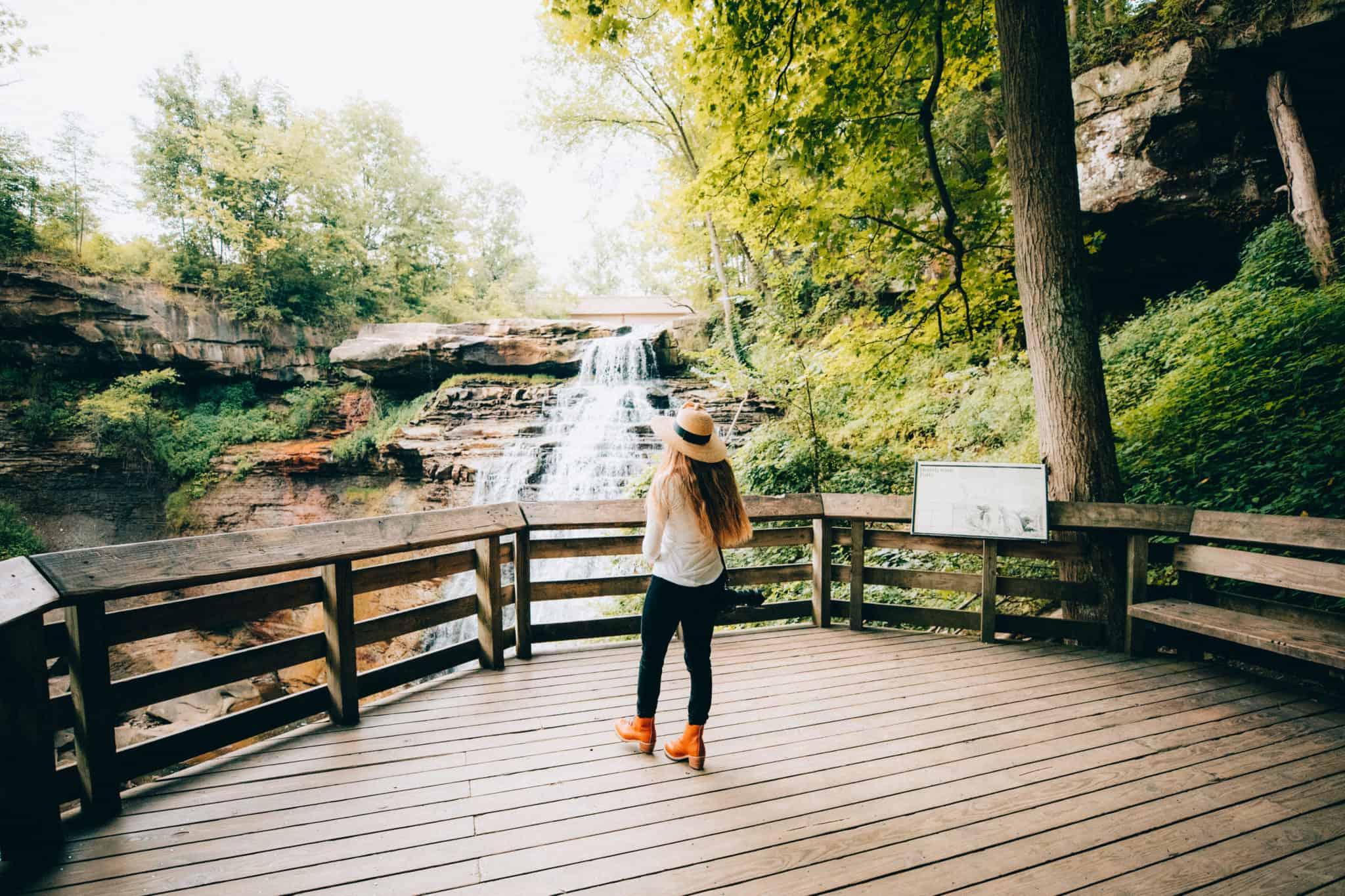 Brandywine Falls - Cuyahoga Valley National Park - TheMandagies.com
