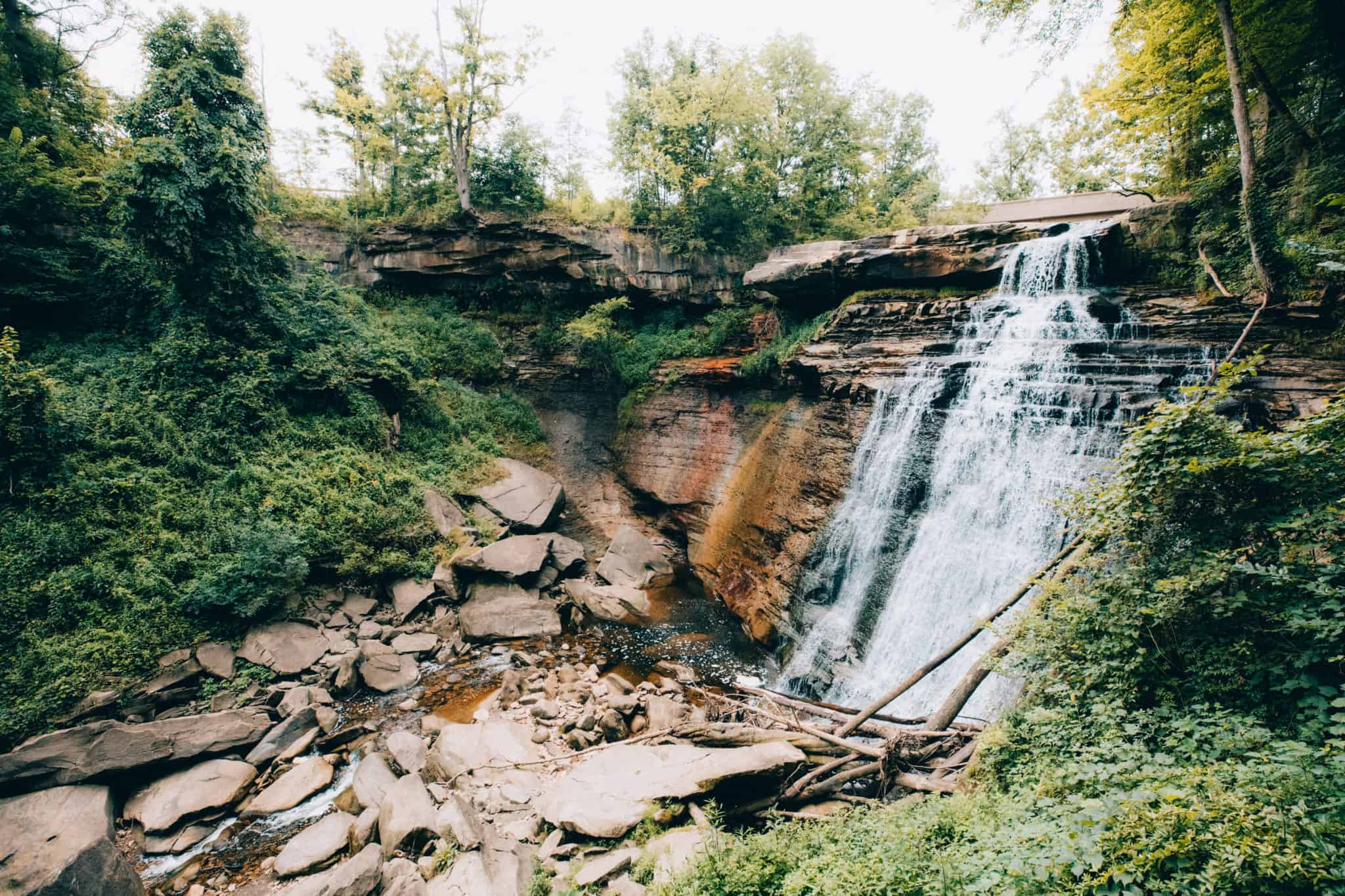 Brandywine Falls - Cuyahoga Valley National Park - TheMandagies.com