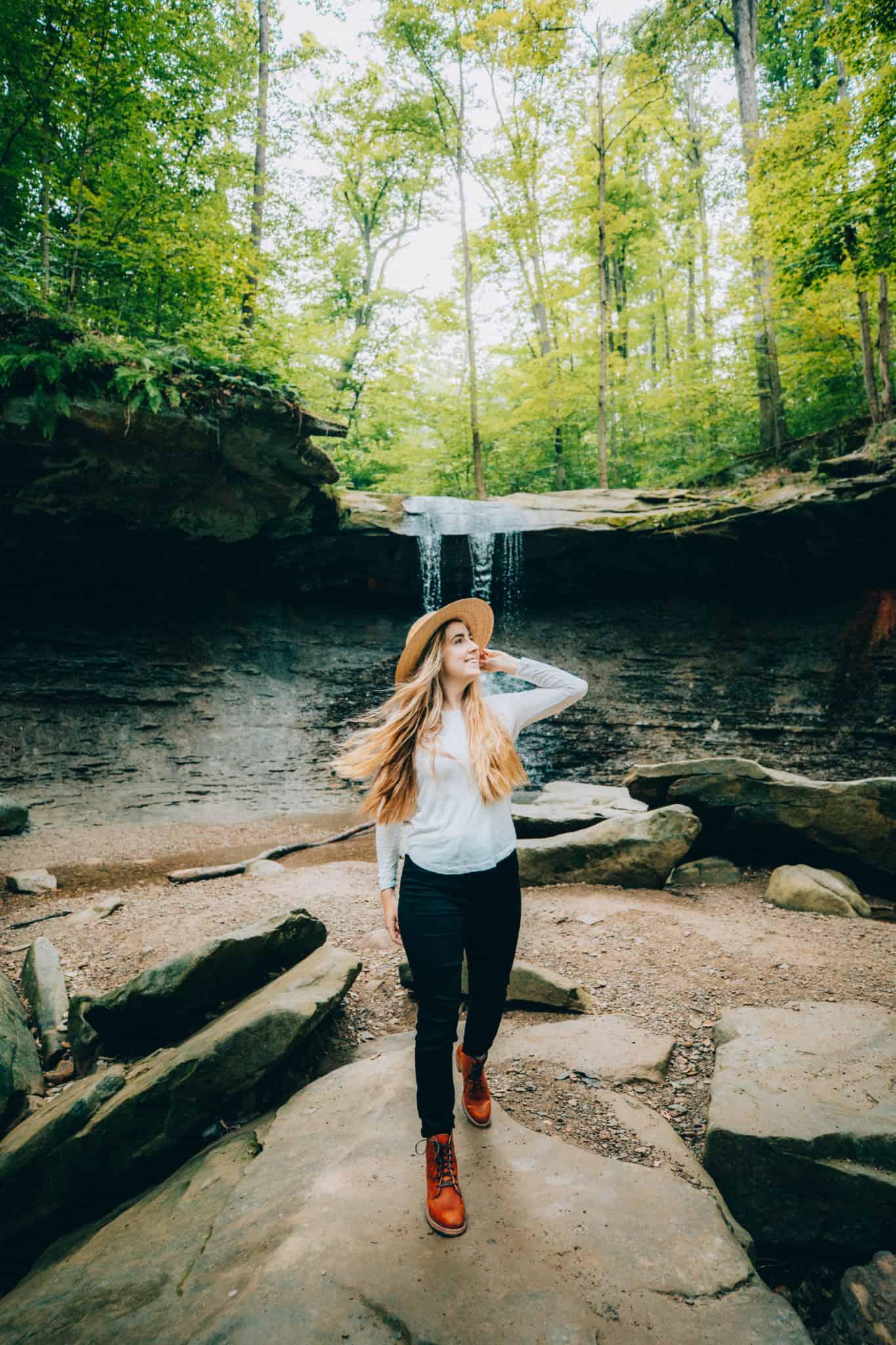 Blue Hen Falls - Cuyahoga Valley National Park - TheMandagies.com