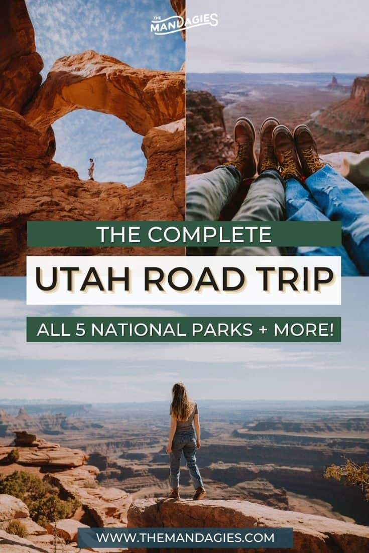 Ready to discover all the best national parks in Utah? Even better, we're connecting all of them on an epic Utah road trip! We're sharing the best route to see them all and amazing things to do in Utah! From Arches National Park, Canyonlands, Bryce Canyon, Zion, and Capitol Reef, you can't top it! Save this post for your next amazing Utah national parks road trip! #utah #utahnationalparks #brycecanyon #archesnps #canyonlands #zionnationalpark #capitolreef #roadtrip #desert #utahroadtrip #travel