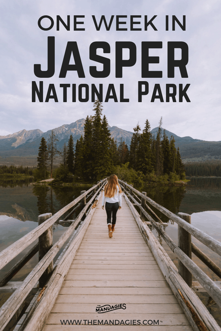 Explore this Canadian Rockies gem in Alberta Canada! We're sharing the complete 7-Day Jasper National Park itinerary to make the most of your adventure in the mountains! #canada #JasperNationalPark #PacificNorthwest #Alberta #RoadTrip #Vacation #Outdoors #Itinerary #Forest #Travel #Hiking