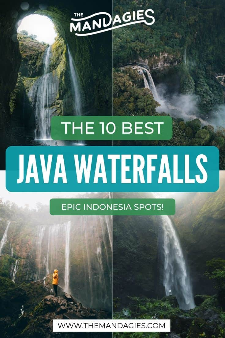 Discover the Best Waterfalls in Indonesia, located in East Java! We're sharing waterfalls tips, directions, and ways to make the best of these epic photo spots in East Java. #indonesia #tumpaksewu #eastjava #waterfall #asia #javaindonesia