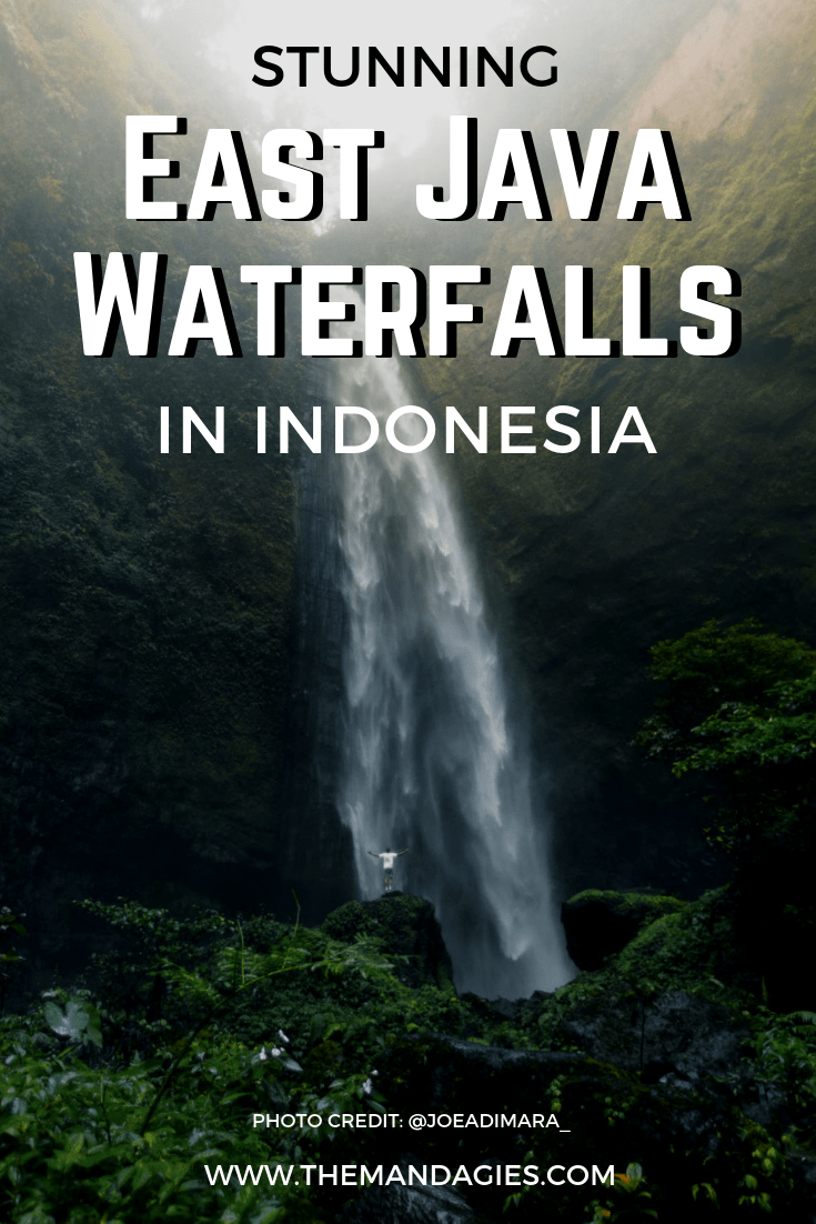 Ready to explore Indonesia? Check out these stunning East Java waterfalls for an epic adventure in the jungle! We're sharing maps, hiking tips, and so much more! #waterfalls #indonesia #eastjava #java #hiking #jungle #Outdoors #southeastasia #asia #Travel #photography
