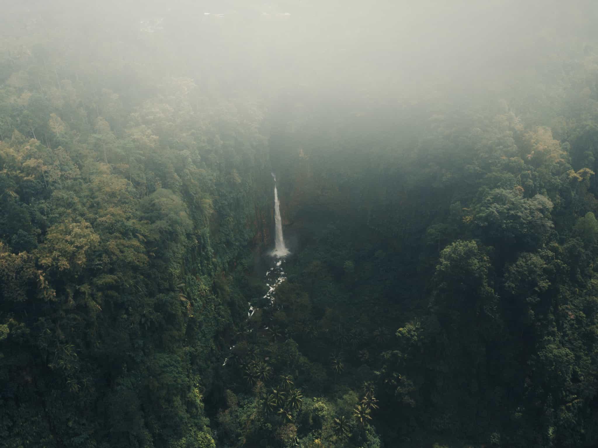 Kapa Biru From Above - East Java Waterfall by @Joeadimara_