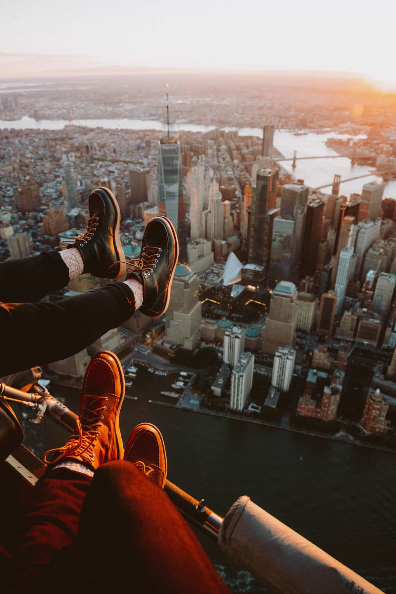 Experience A Doors Off Helicopter Flight In NYC The Mandagies