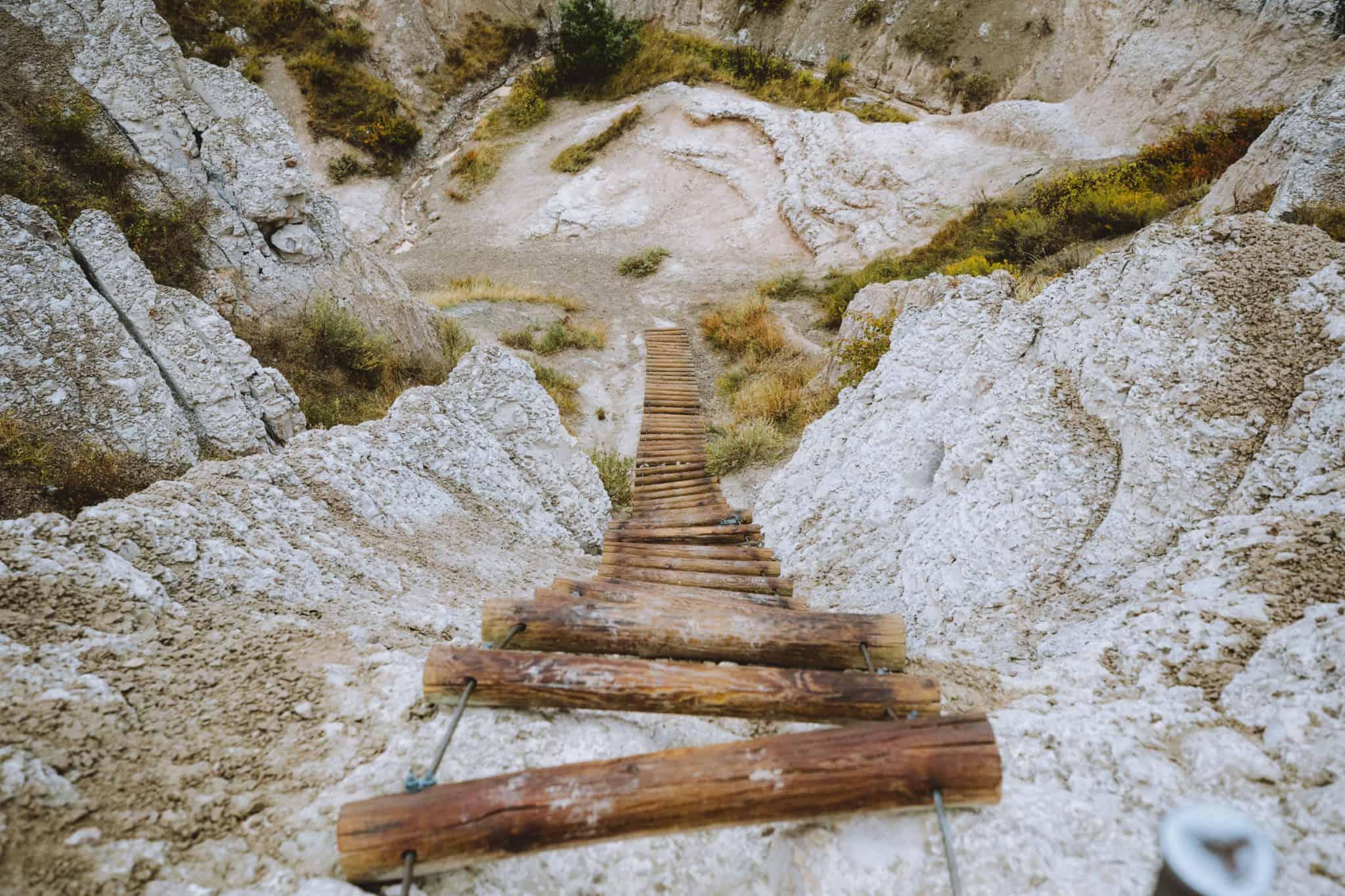 Notch Trail Ladder, Badlands South Dakota