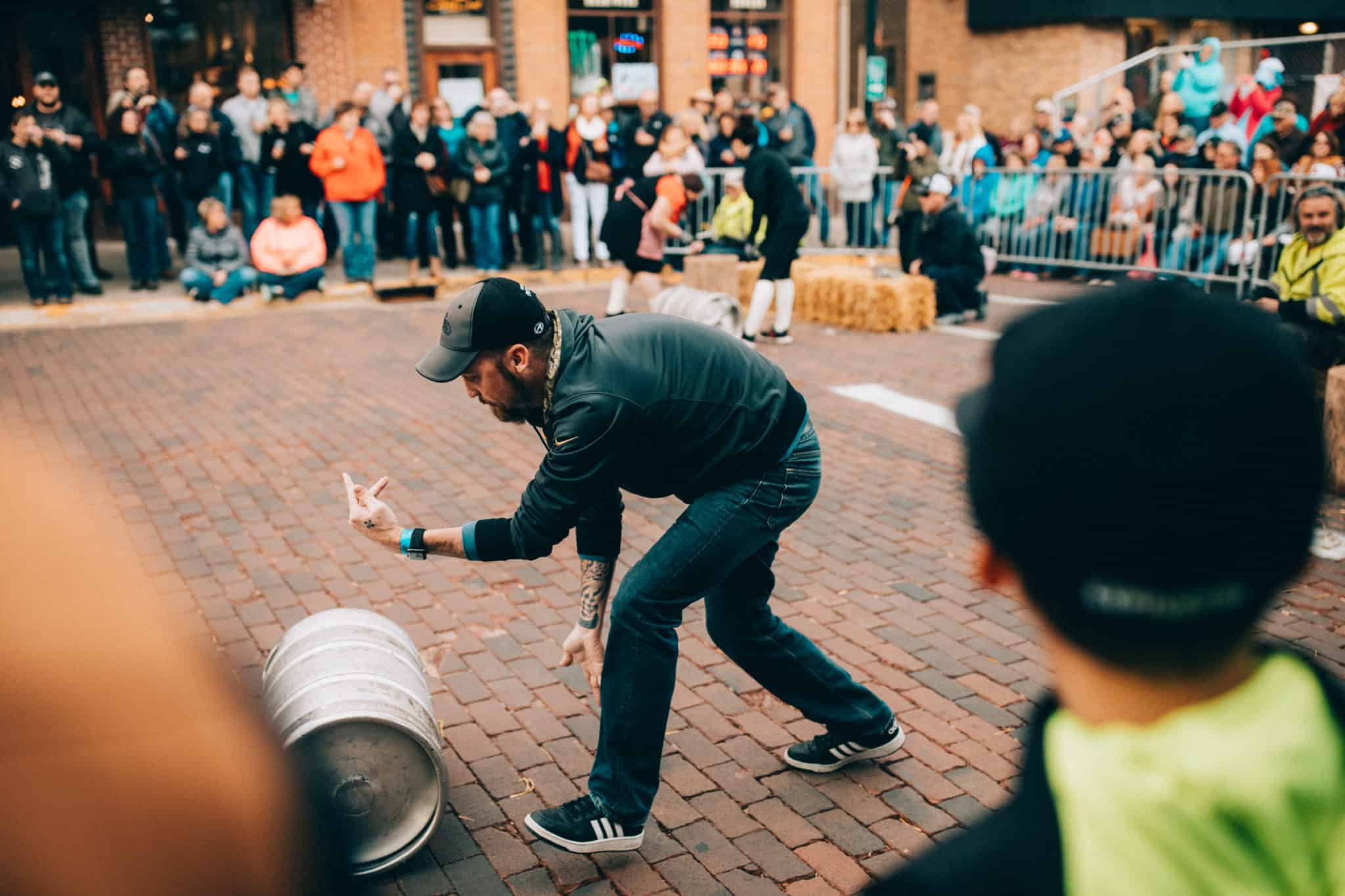 Beer barrel games, Deadwood, South Dakota