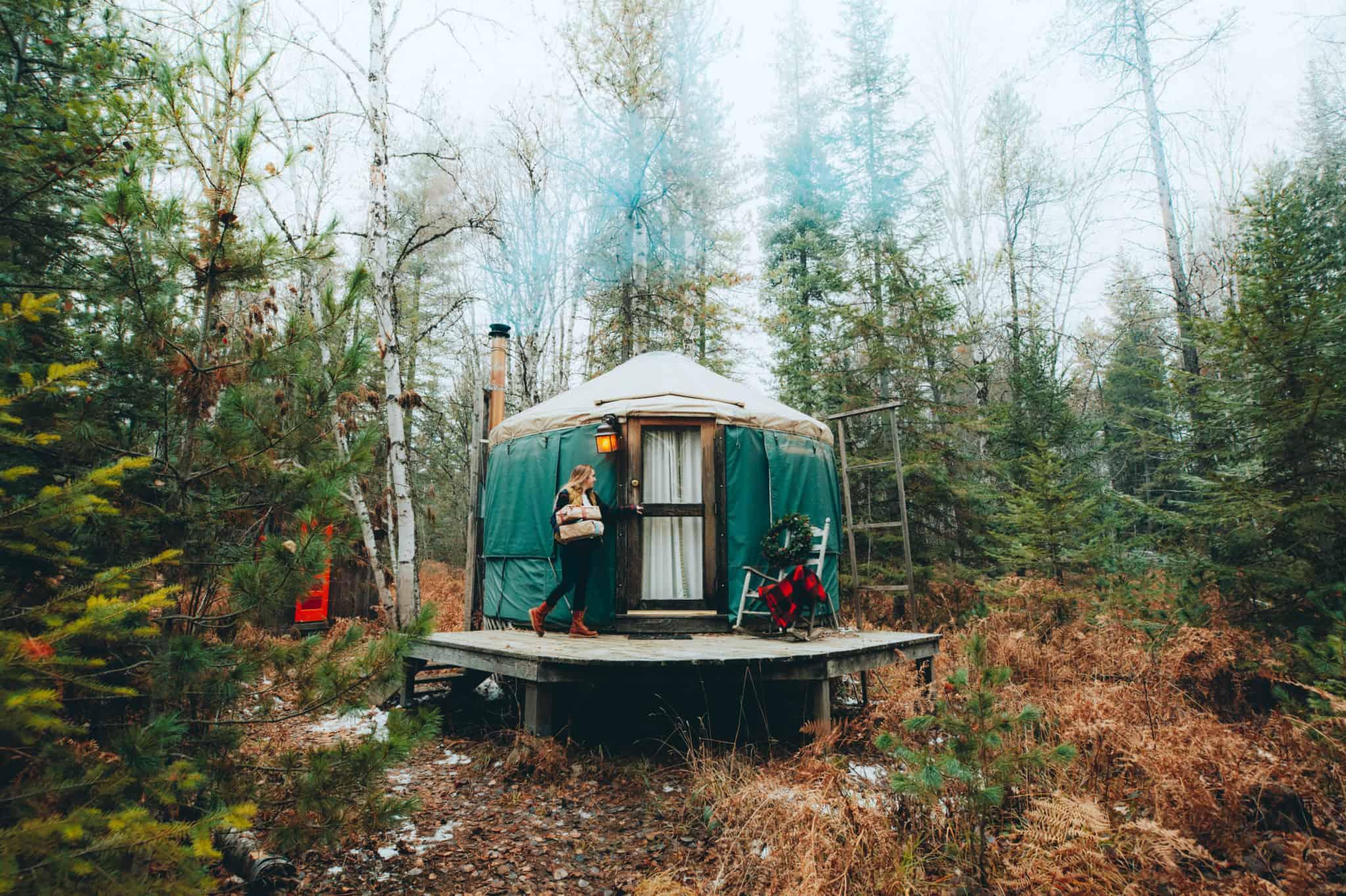 emily yurt exterior