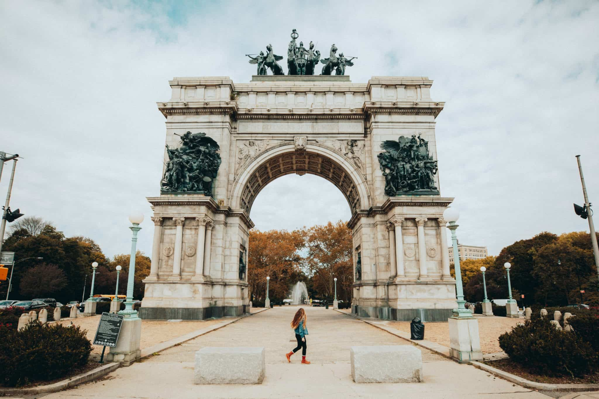 Grand Army Plaza in Prospect Park, Brooklyn
