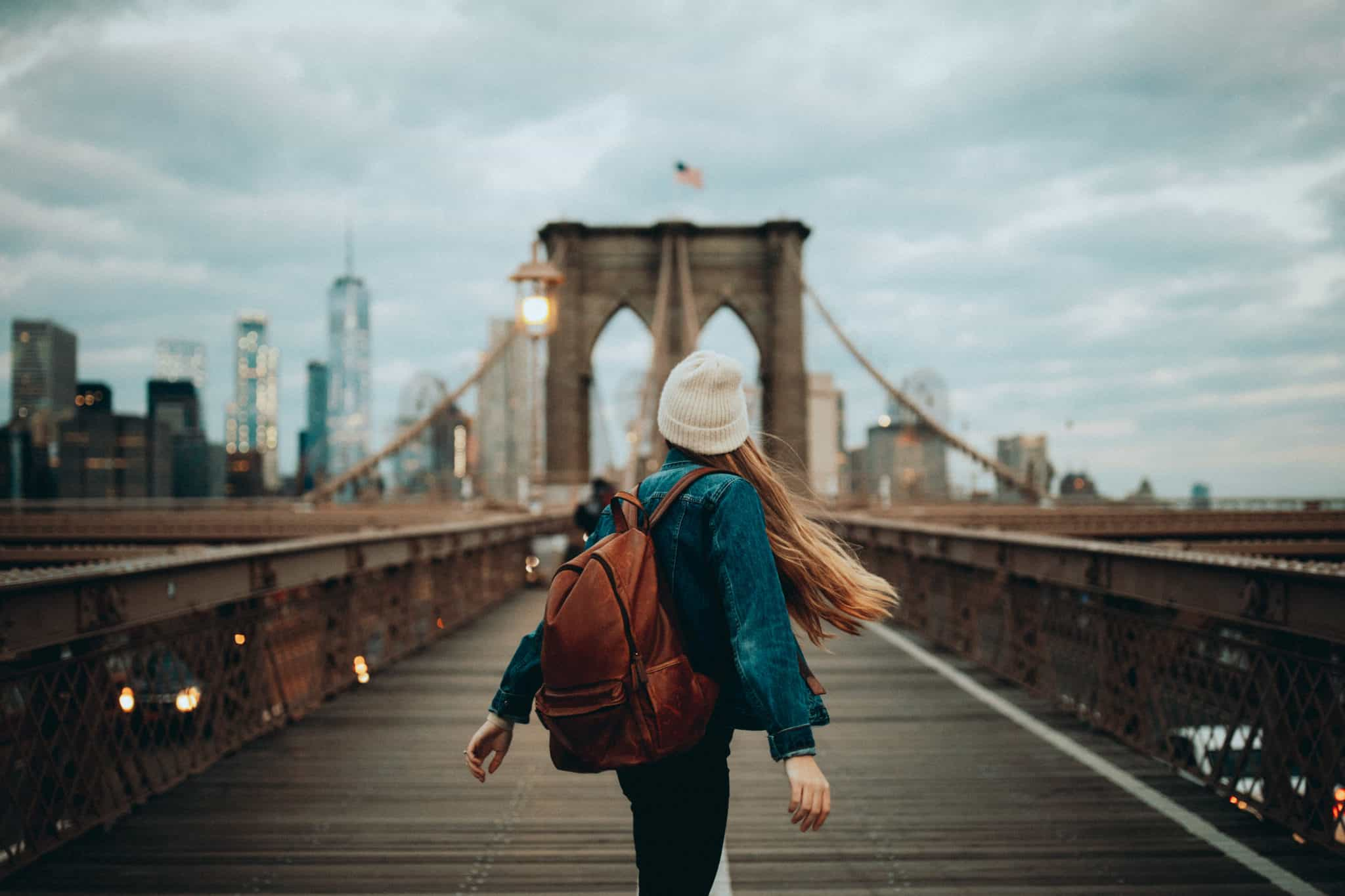 Brooklyn Bridge with Emily Mandagie - Instagram Spots In NYC 37df0f150