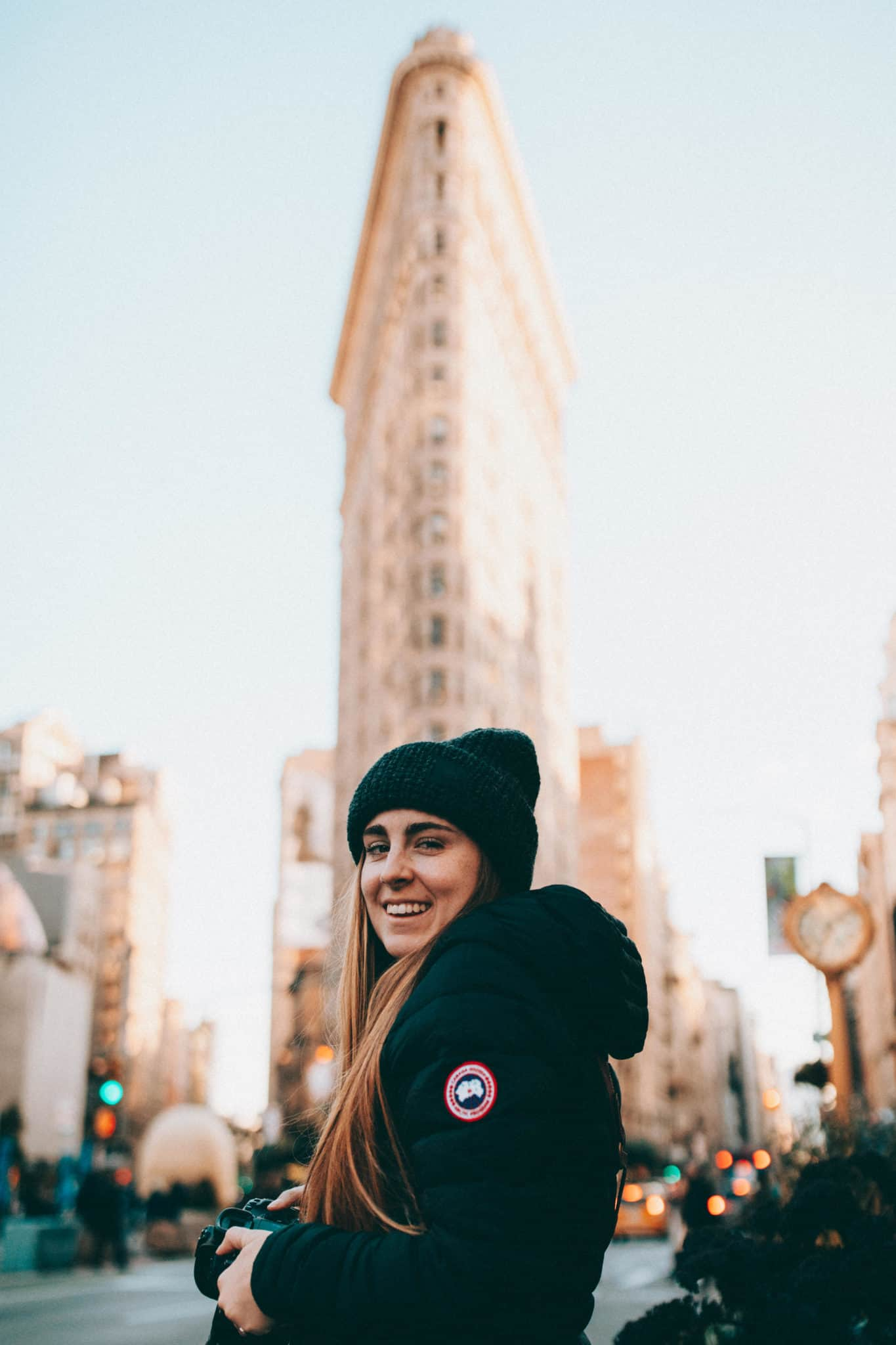Flatiron Building with Emily Mandagie - Photo Spots In NYC a14256a68