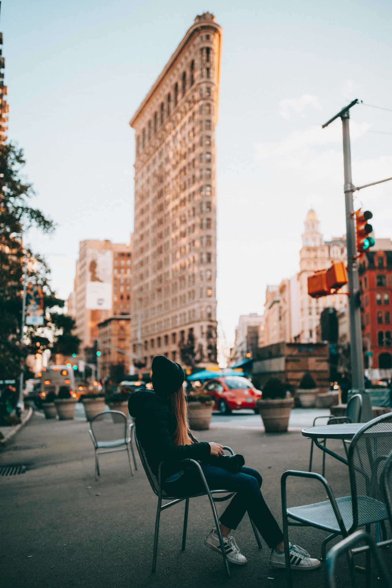 Flatiron Building with Emily Mandagie - Photo Spots In NYC