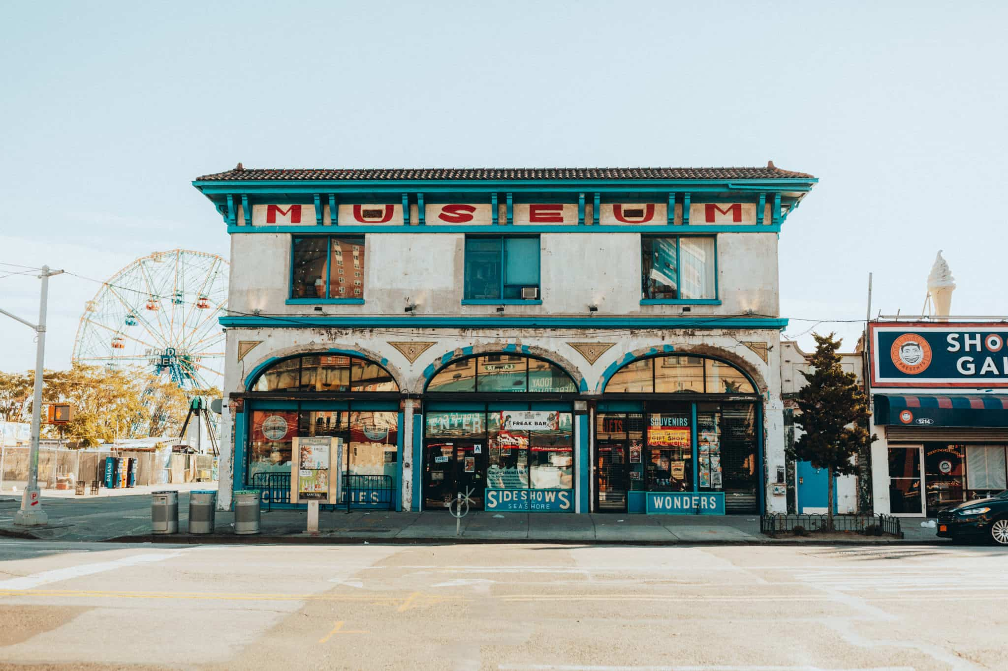 Historical Building at Coney Island - TheMandagies.com