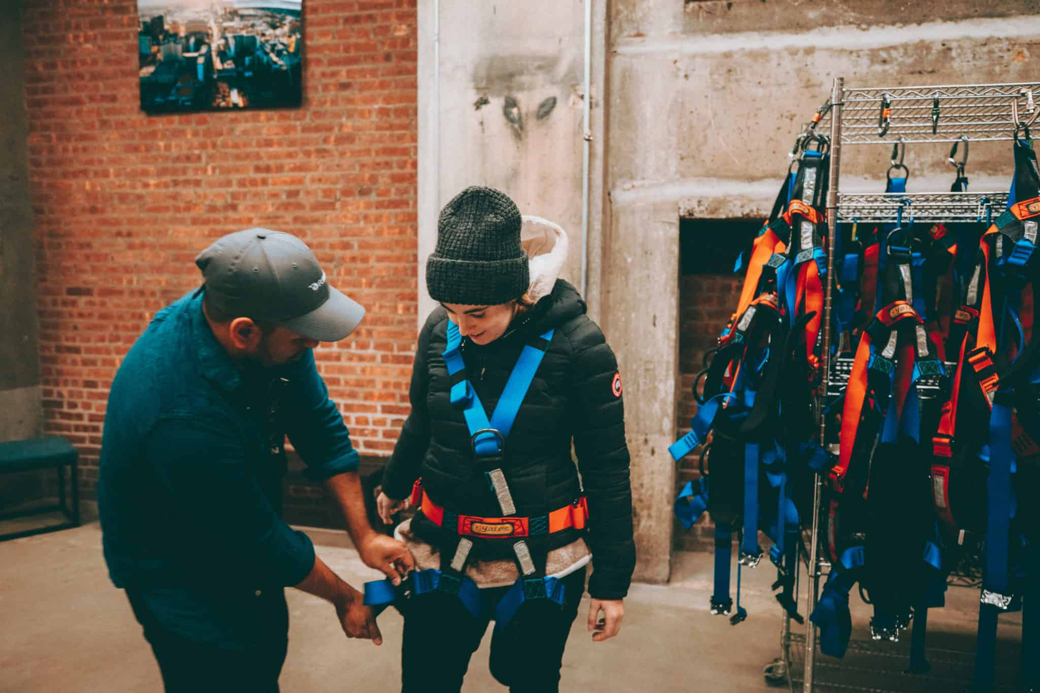 Helicopter Safety Gear Prep
