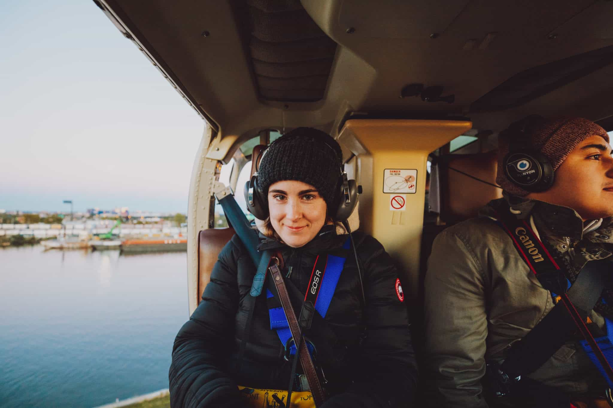 Helicopter Safety Gear Emily Mandagie