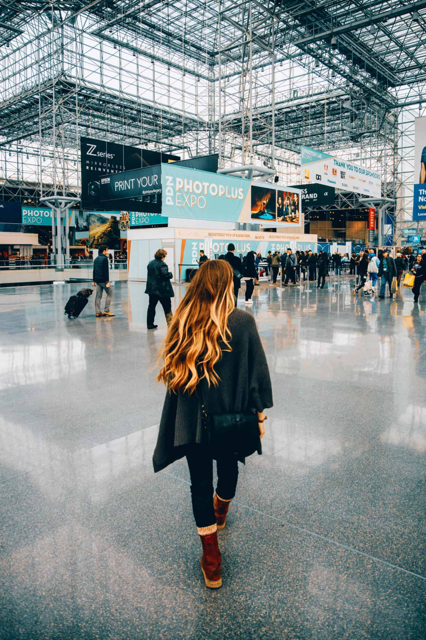 Jacob Javits Center, NYC - Instagram Spots in NYC - TheMandagies.com