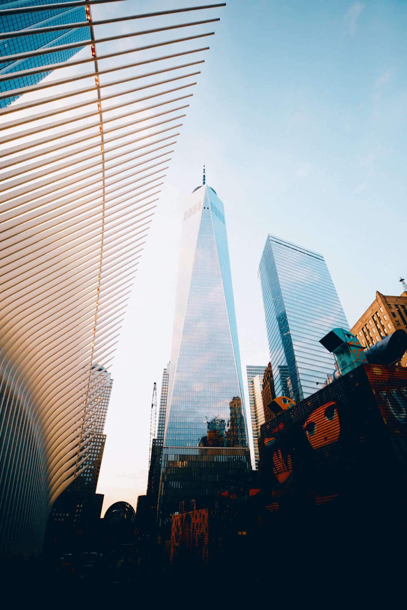 World Trade Center and Oculus - Lower Manhattan - TheMandagies.com