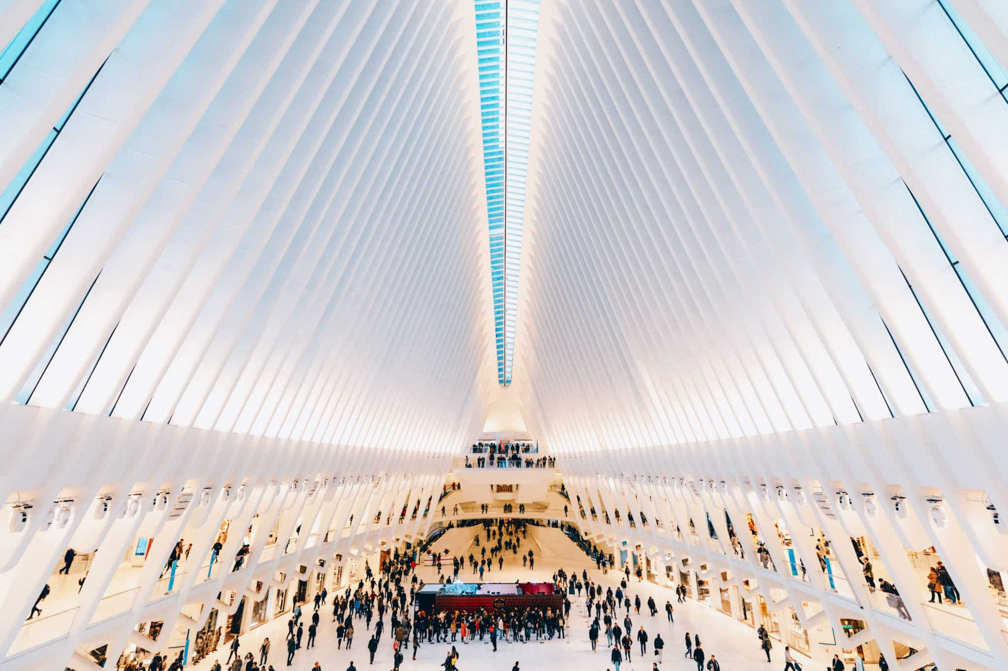 The Oculus from above platform - Instagram Spots In NYC - TheMandagies.com