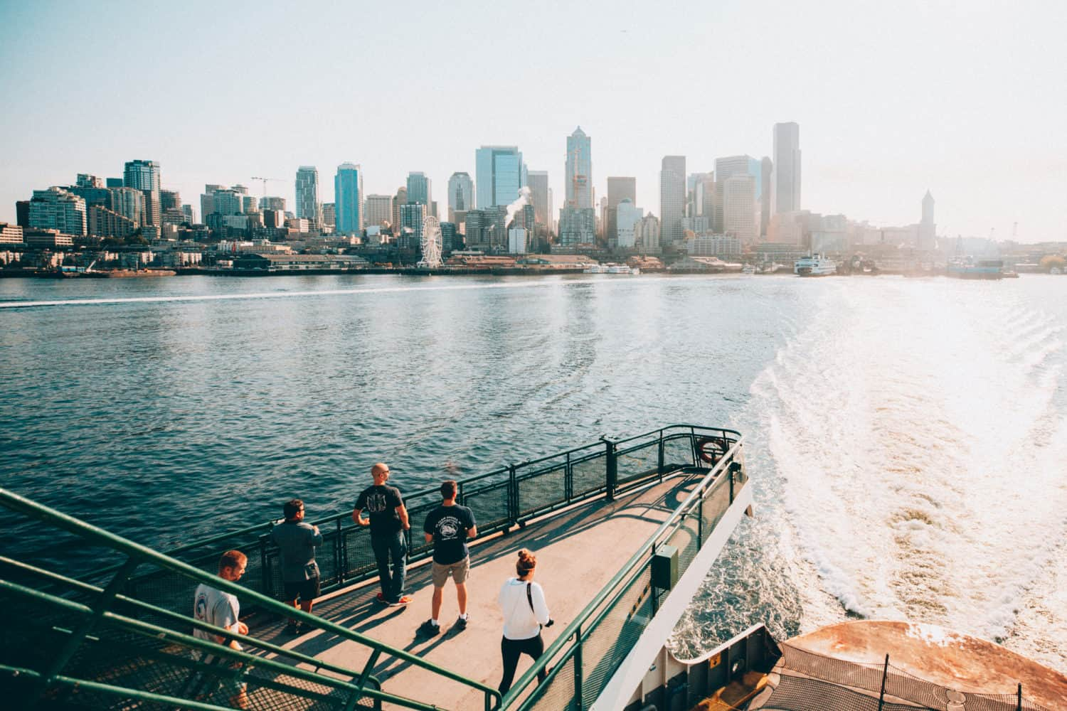 Things To Do In The Pacific Northwest - Riding a Ferry in Seattle