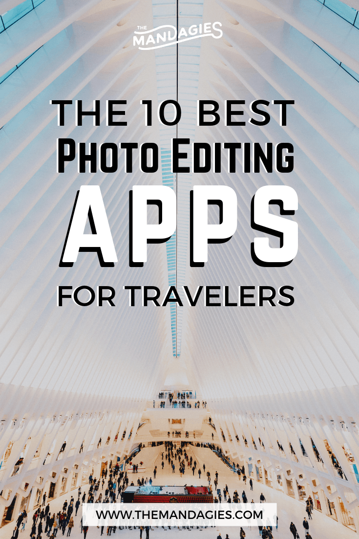 Take your travel photography on the go with these 10 photo editing apps for smartphones! We're showing you the best tools for travel photographers, and extra resources to stay productive while traveling. #photography #photoediting #productivity #travel #apps #editing #photo #Instagram #planoly #buffer #adobe #photoshop #canva