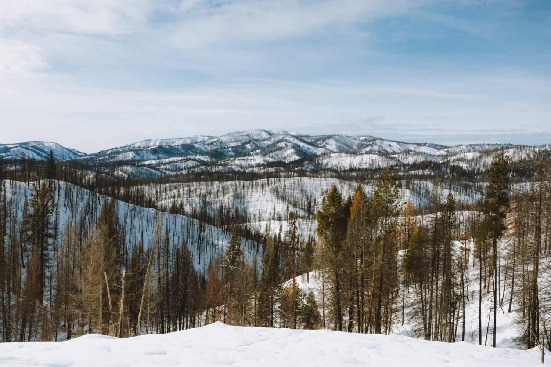 View From Summit Trail, Idaho City Park N Ski Trails (TheMandagies.com)