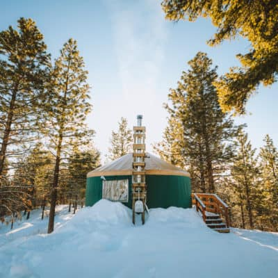 The Ultimate Guide To Backcountry Yurt Camping In Idaho