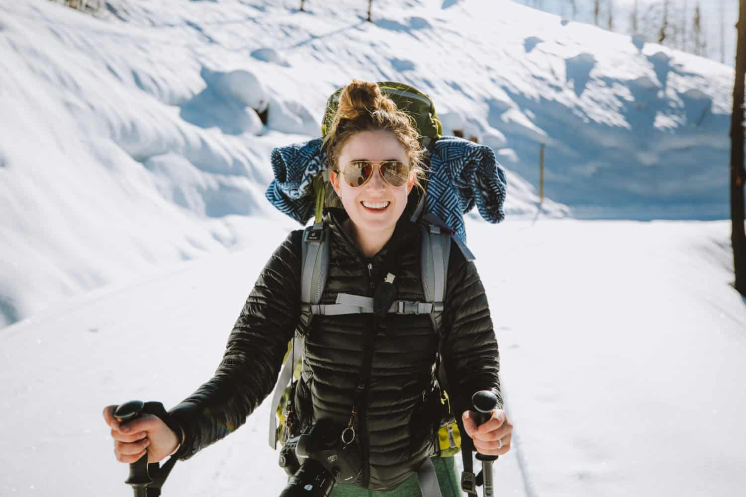 Emily Backpacking In Idaho, wedding gifts for outdoorsy couple