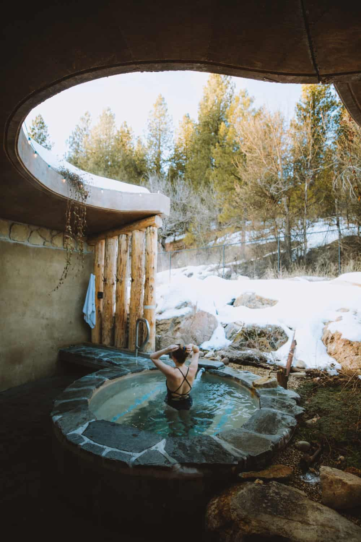 The Springs Idaho City - Private Tub