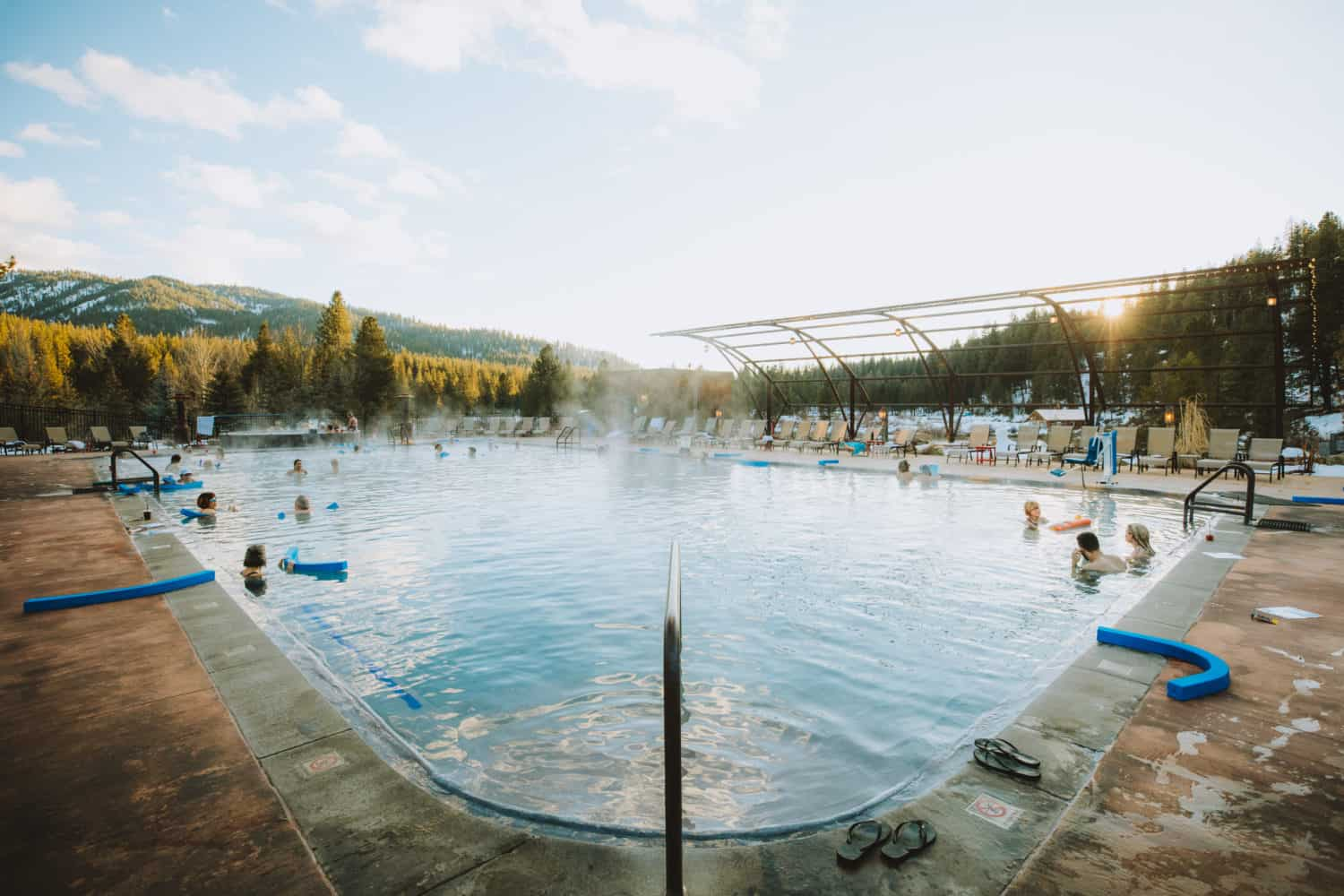 The Springs Idaho City - Large Communal Pool
