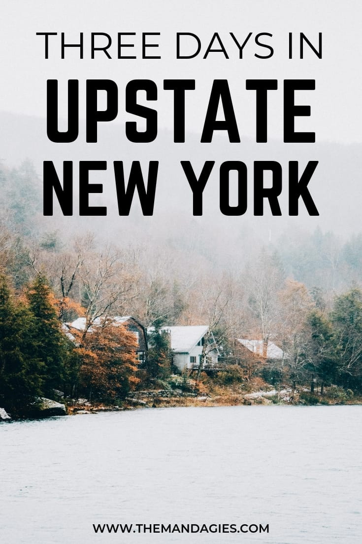 Discover an amazing getaway from New York City with our favorite Upstate New York itinerary! We're sharing how to spend three days in Upstate New York, hikes in the Catskill Mountains, small towns, and scenic drives. Save this pin for your next NY adventure! #NewYork #UpstateNewYork #scenicdrives #CatskillMountains #Woodstock #Phoenicia #roadtrip #hiking #travel #adventure #eastcoast #fallfoliage #weekendgetaway