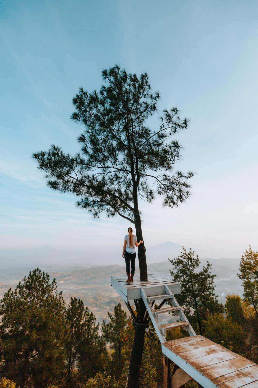 Becici Peak in Yogyakarta, Indonesia - TheMandagies.com
