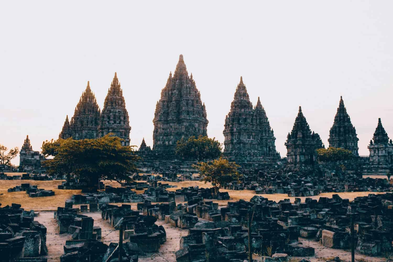 Prambanan Temple Complex In Yogyakarta, Indonesia - TheMandagies.com