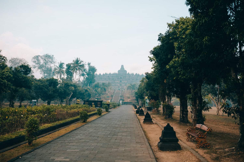 Borobudur Temple entrance - TheMandagies.com