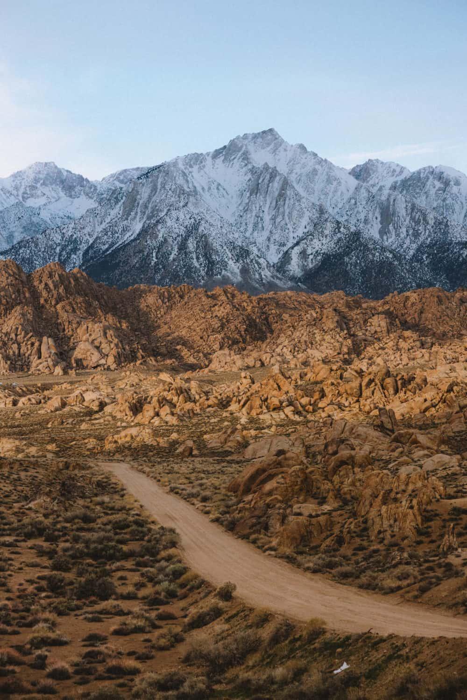 Alabama Hill's Movie Road - California