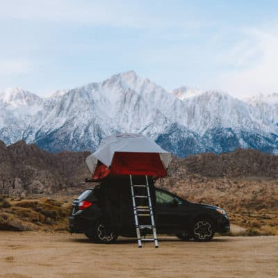 How To Go Camping In Alabama Hills, California For FREE
