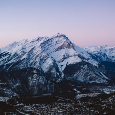 The Essential Guide To The Banff Gondola in The Winter – Best Photography Spots + More