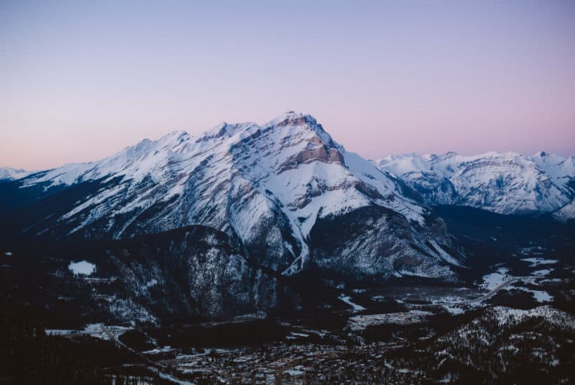 Banff Gondola in Winter - TheMandagies.com